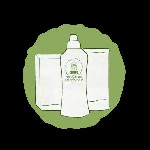 Organic & Recycled imballaggi